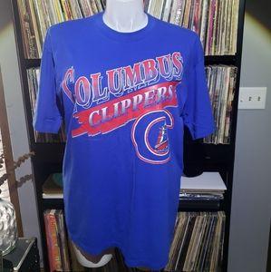 Vintage 1994 Columbus Clippers Baseball t shirt